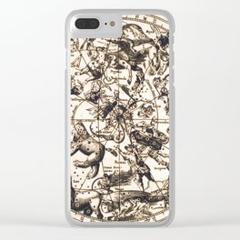 Unknown Celestial Map of the Northern Hemisphere, 17th Century Clear iPhone Case