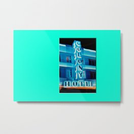 Americana - Ocean Drive - Miami Beach Metal Print