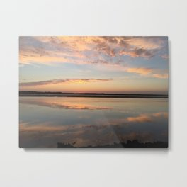 Tillamook Bay, Oregon Sunset Metal Print