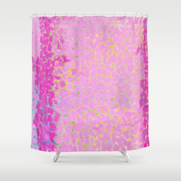 Classical African-American Masterpiece 'Wind and Crepe Myrtle Concerto' by Alma Thomas Shower Curtain