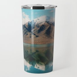 Film photo of New Zealand Glacier Landscape Travel Mug