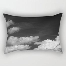 Black sky Rectangular Pillow