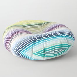 Polychromos Floor Pillow