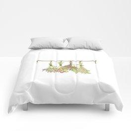 Original Herbs in Pastel Color Comforters