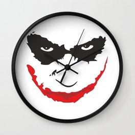 Joker face  Wall Clock