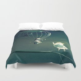 Good Old Fashioned Villain Duvet Cover