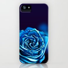 Blue Rose Slim Case iPhone (5, 5s)
