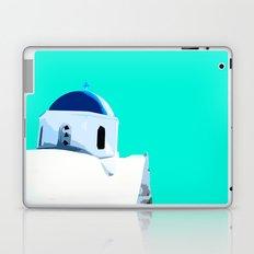 Beautiful Santorini in Greece Laptop & iPad Skin