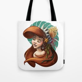 Tribal Princess Ariel Tote Bag