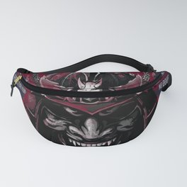 Samurai Art Mask, Miyamoto Musashi Quotes Art Fanny Pack