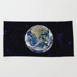 The Earth Beach Towel