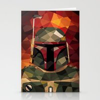 boba Stationery Cards featuring Boba Fett by Eric Dufresne