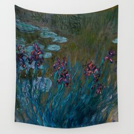 """Claude Monet """"Irises and Water-Lilies"""", 1914 - 1917 Wall Tapestry"""
