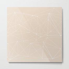 LIGHT LINES ENSEMBLE III-A Metal Print