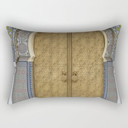 The royal palace in Fes Rectangular Pillow