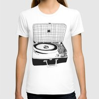 record T-shirts featuring Record Player by Paul McCreery