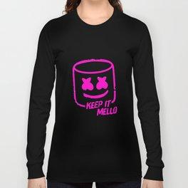 Marshmello - Keep It Mello Purple Long Sleeve T-shirt
