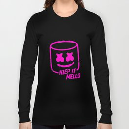 Marshmello - Keep It Mello Purple Long Sleeve T-shirt