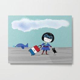 Bluey's Trois Couleurs Metal Print