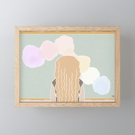 A Day At The Museum Framed Mini Art Print