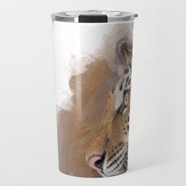 That Beautiful Bengal Tiger in Profile Travel Mug
