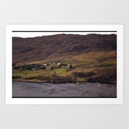 New Years Day, one year in Ullapool. Art Print