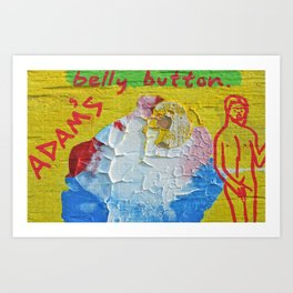 """""""Innie:Outtie"""" Art Print"""