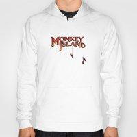 monkey island Hoodies featuring Monkey Island - Treasure found! by Sberla