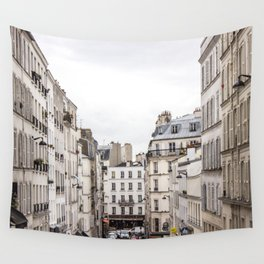 Montmartre View of Paris  Wall Tapestry