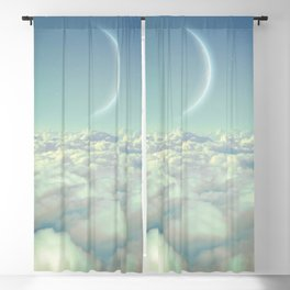 Dream Above The Clouds Blackout Curtain