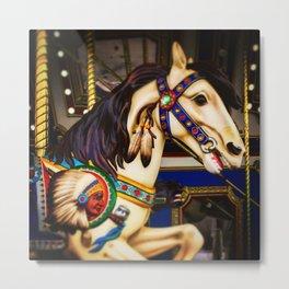 Pony ride @ fair Metal Print