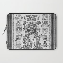 Legend of Zelda inspired Deku Nuts Vintage Advertisement Laptop Sleeve