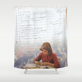 I've Learned; [Dear Capitalist Scum] Shower Curtain