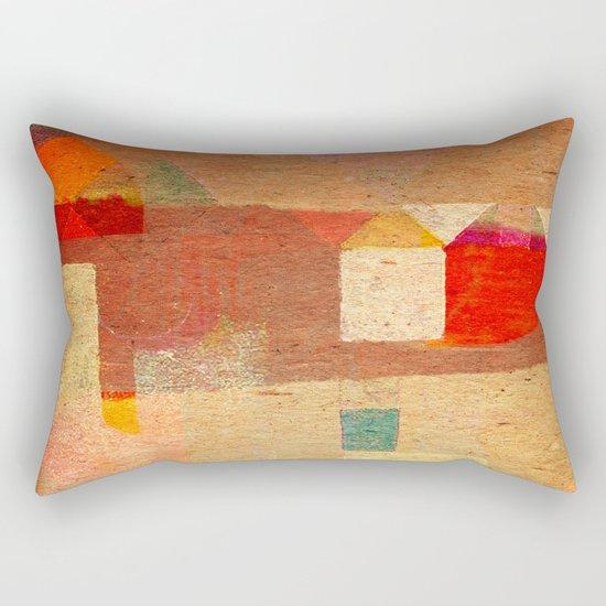 Casitas en España Rectangular Pillow