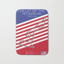 Circuit of the Americas, Austin Texas Bath Mat