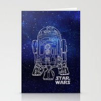 r2d2 Stationery Cards featuring r 2 d 2 by Vickn