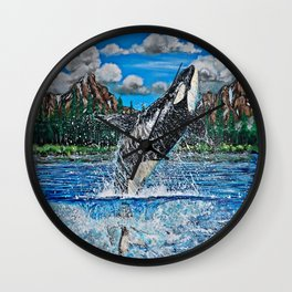 What's Home? Wall Clock