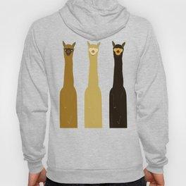 Triple LLAMAS ALPACAS CAMELS - Dark Hoody