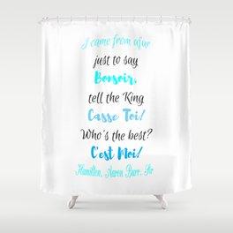 c'est moi - hamilton Shower Curtain