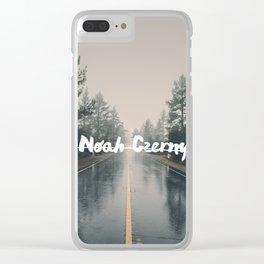 Noah Czerny Clear iPhone Case