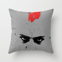 taxi driver Throw Pillows featuring Driver by Green'n'Black
