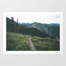 Happy Trails III Art Print
