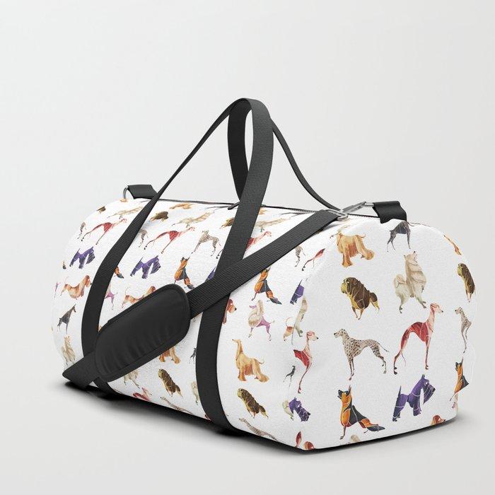Dog breeds Duffle Bag