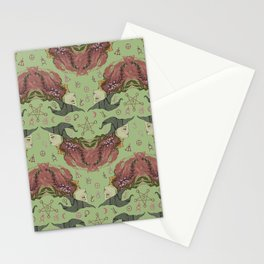 Witchy-Wistera Stationery Cards