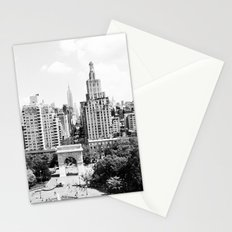 View from NYU's Student Center Stationery Cards