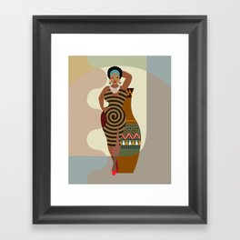 Afrocentric Chic IV Framed Art Print