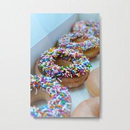 Krispy Kreme Donuts Metal Print