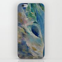 rogue iPhone & iPod Skins featuring Rogue Wave by Michael Creese