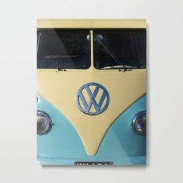 Hippie Van - Splittie Metal Print