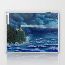 Split Rock Lighthouse, Duluth, MN Laptop & iPad Skin
